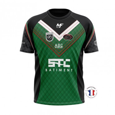 Maillot Match Officiel Toulouges XIII 2019-2020