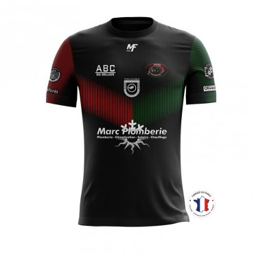 Maillot Replica effective Toulouges XIII